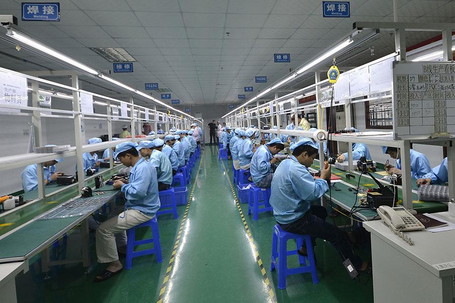 在華美國企業陷入一種困境,一方面受到中共當局知識產權侵害的實際威脅,另一方面不敢公開尋求本國政府的支持,因為怕中共報復。(STR/AFP/Getty Images)