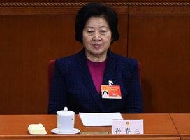 美媒:孫春蘭任工會主席 是「對號入座」