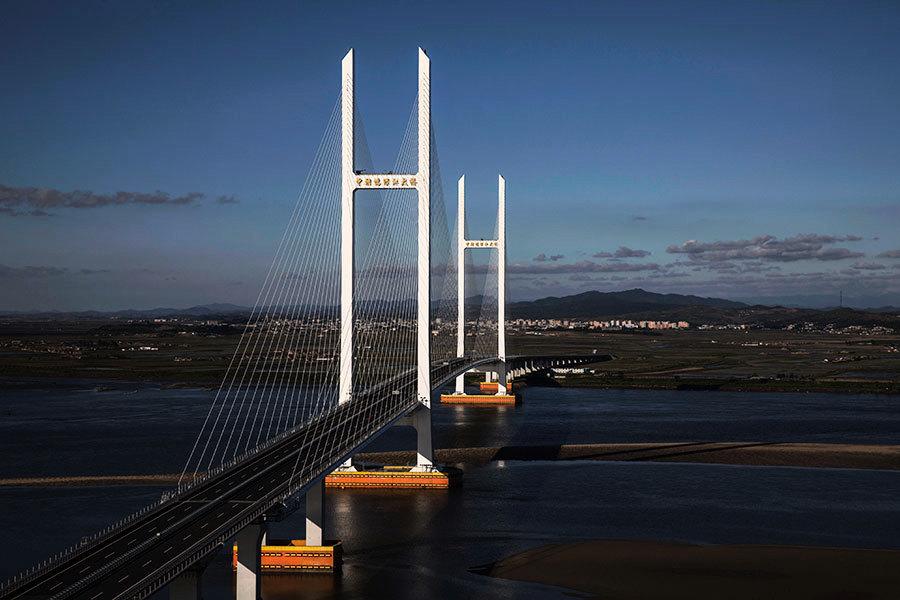 傳北京當局突建六線道高速 直通鴨綠江