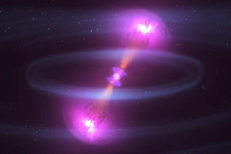 引力波大突破 人類感觸宇宙重組的聲與光