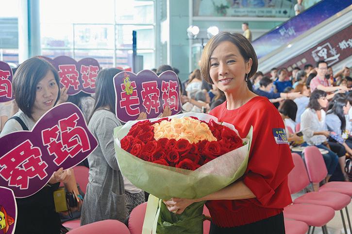 毛舜筠表示女兒想當老師,不會入娛樂圈。(資料圖片)