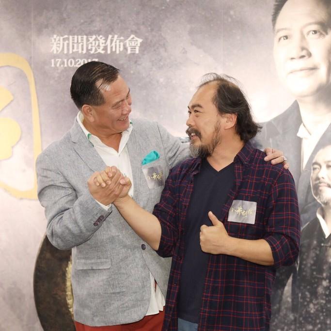 萬梓良第一次和另一戲劇大師陳淑儀合作。(香港戲劇協會提供)