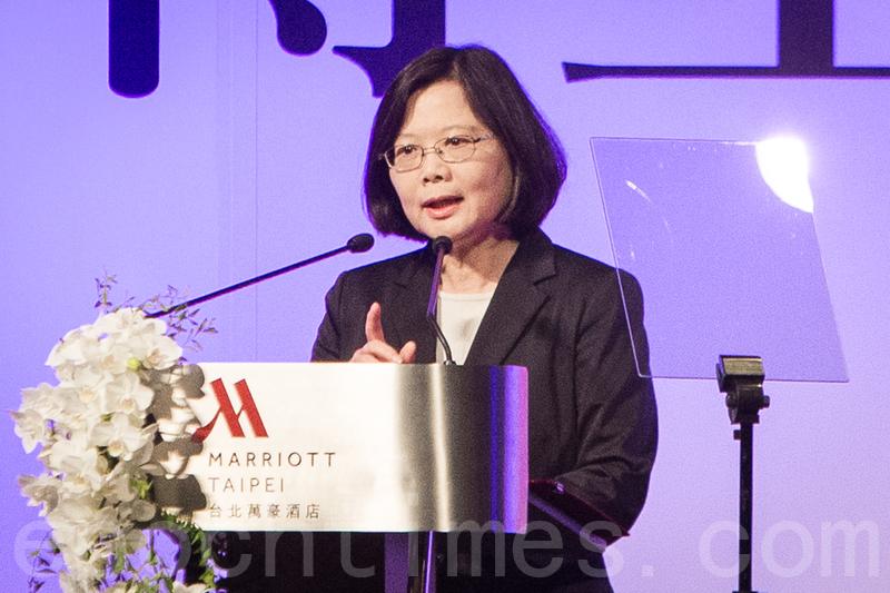學者表示,中國最高領導人習近平對台政策談文化、民族認同,有無限大的活動空間,台灣的決策者也要思考有哪些空間可發揮。圖為台灣總統蔡英文。(資料圖片)
