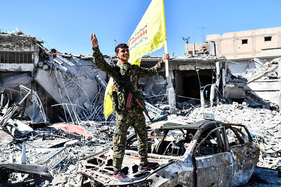 IS走向崩潰 敘利亞民主軍:已收復拉卡