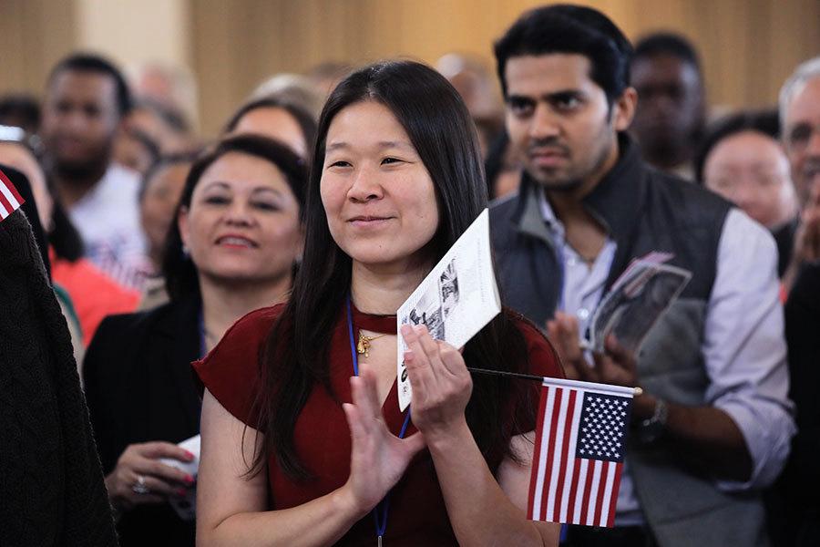 美移民逾4300萬創106年高點 華人六年增55萬