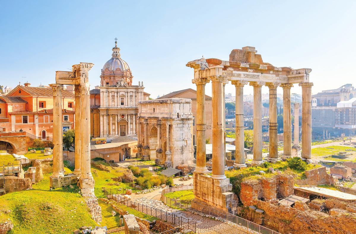 古羅馬廣場遺蹟。(Fotolia)
