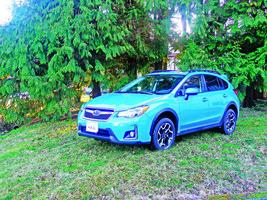 豔麗之藍 Subaru Crosstrek