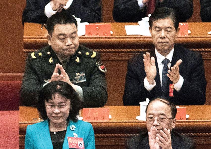 習近平軍界大秘悄升戰區職