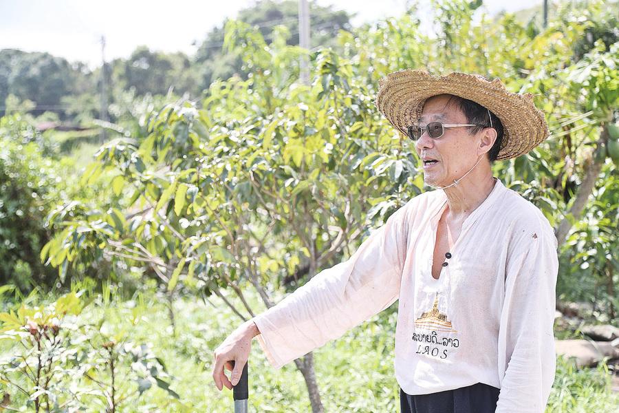 雜誌老闆劉達文變身有機農夫