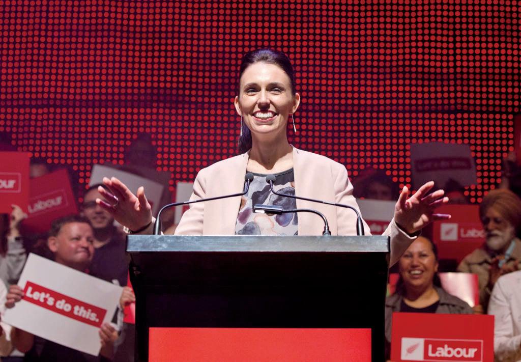 37歲的工黨黨魁嘉欣達阿丹(Jacinda Ardern)將成為紐西蘭最年輕女總理。(Getty Images)