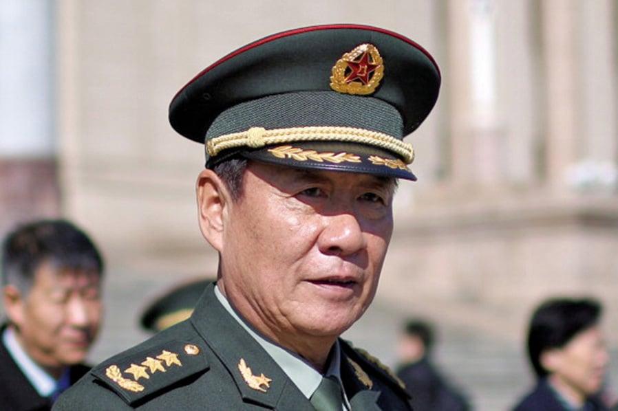 中共十九大召開之際,中共軍隊上將劉源向媒體表示,中共軍隊改革才剛剛開始。(Getty Images)