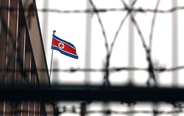 針對北韓發展核武和其它非法武器項目,周五(12月22日),聯合國通過對北韓新一輪嚴厲制裁,秘魯政府也宣佈驅逐兩名北韓外交官。(Stephen Shaver/Polaris)