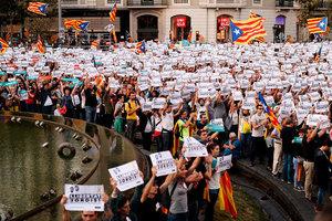西班牙將強令加泰重新選舉