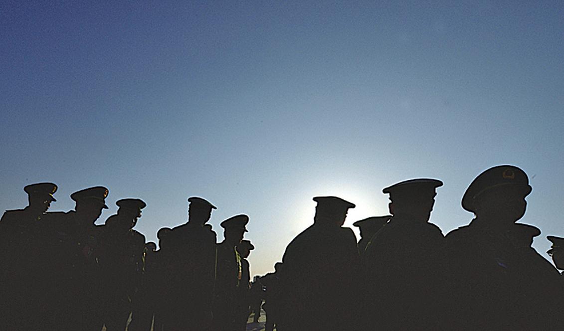 中共十九大正在進行當中,中南海內部爭鬥相當激烈,各類信息不斷曝出。(AFP)