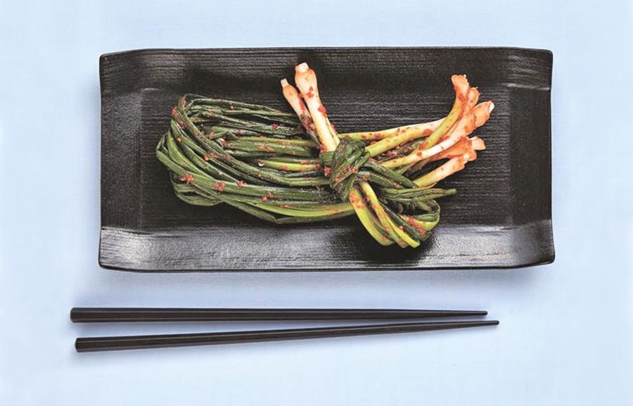 超美味泡菜 熟透的蔥泡菜