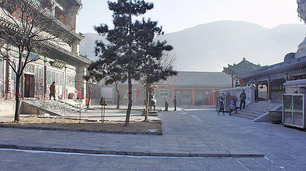 五台山寺廟(Zcm11/維基百科)