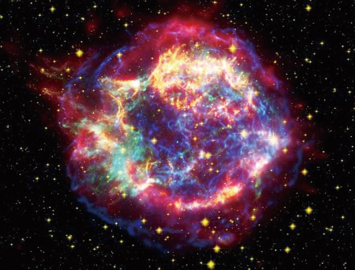 銀河系 發現最年輕超新星  爆炸幾乎剛發生