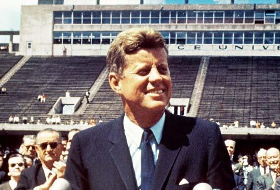 甘迺迪總統。(維基百科公有領域)