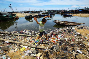 英媒嘆大陸外賣污染 陸民:中共統治下無解