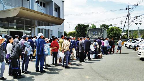 熊本災區華人:最缺水和食物