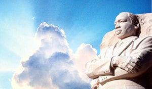 馬丁‧路德‧金 神帶他走到山頂