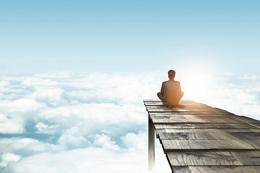 看雲的享受