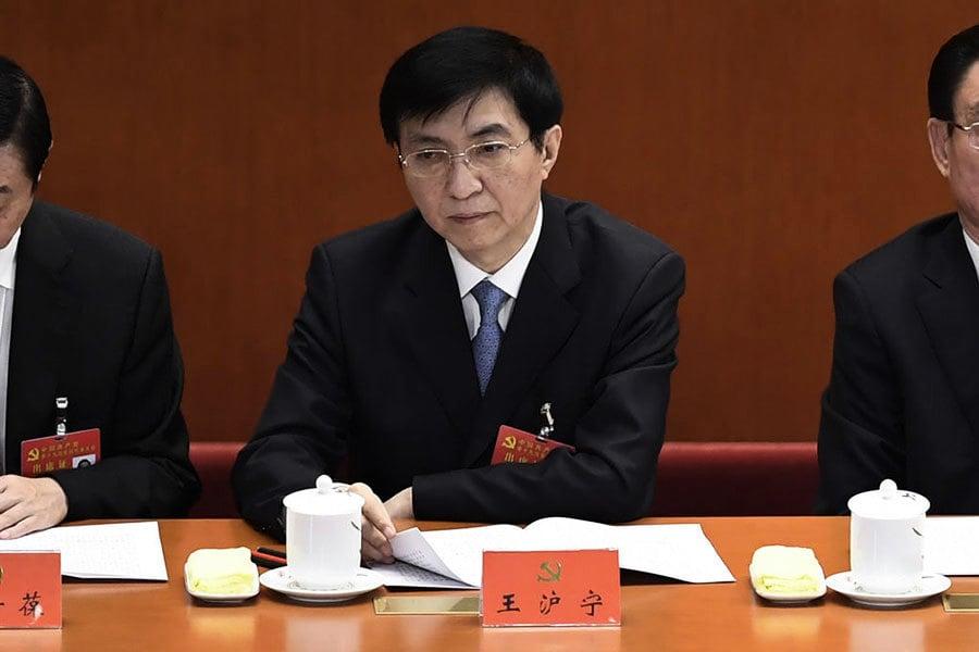 分析:書記處角色有變 王滬寧兼副主席?