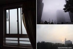 十九大陰霾鎖京城 外媒關注