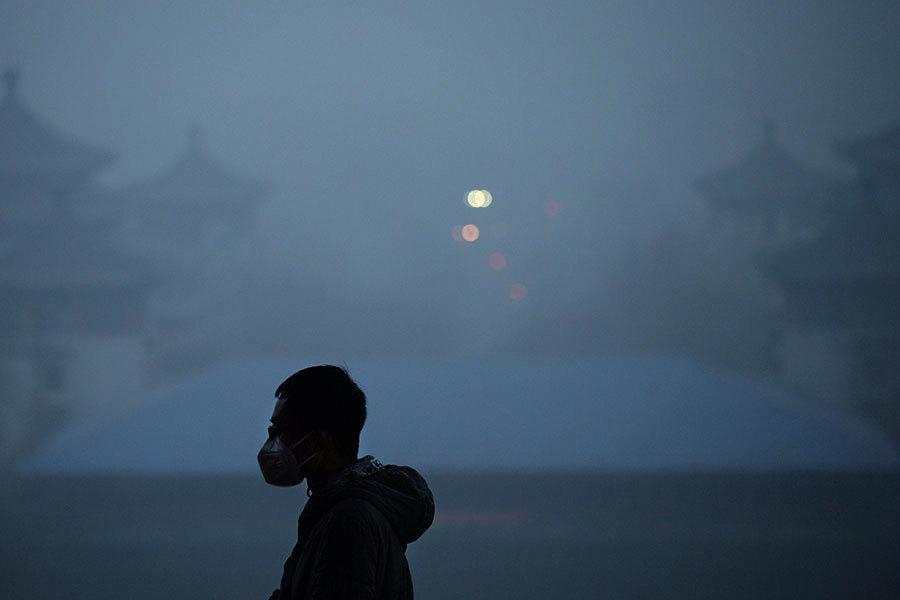 中國逾四分三城市空氣質量不達標 北京市民訴苦