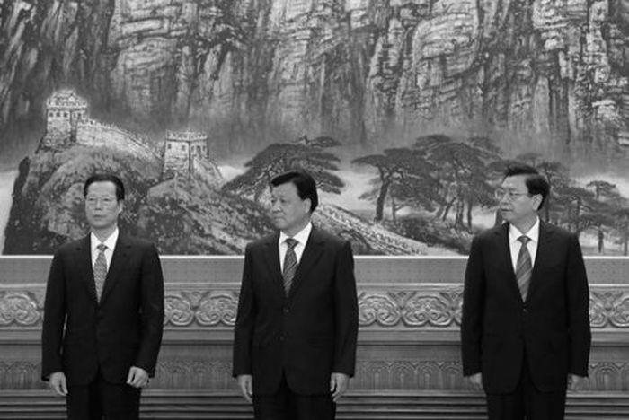 陳思敏:江派三常委時隔五年的上台與下台