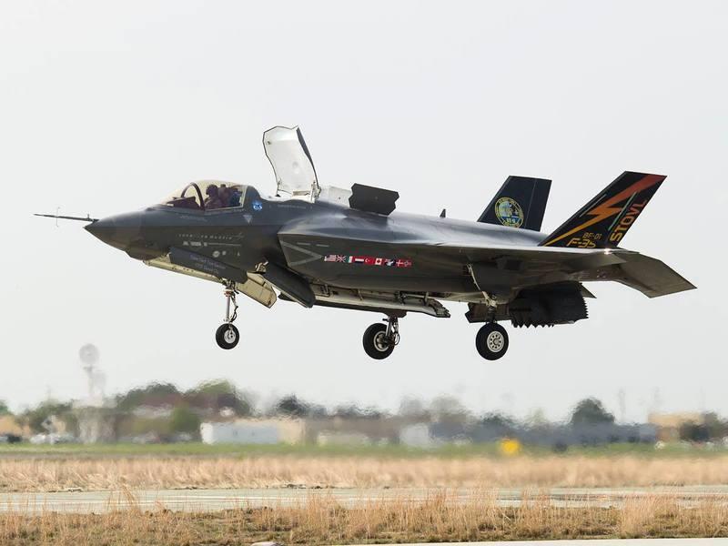美軍12架F-35B隱形戰機 11月部署於駐日基地