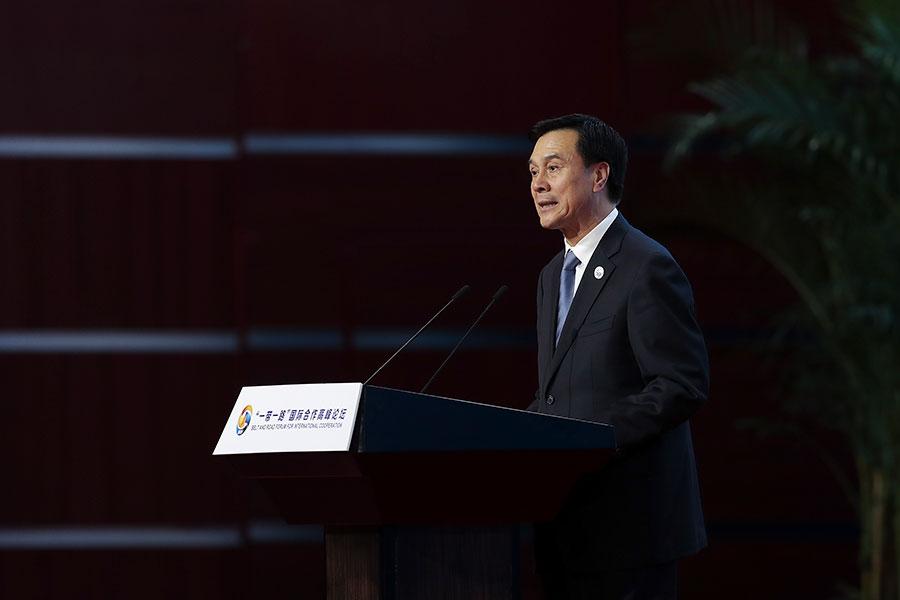 2月24日,中共國務院秘書長楊晶被立案審查。(Lintao Zhang/Pool/Getty Images)