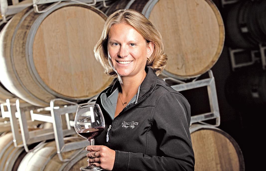 Quails'Gate酒莊的釀酒師Nikki Callaway。