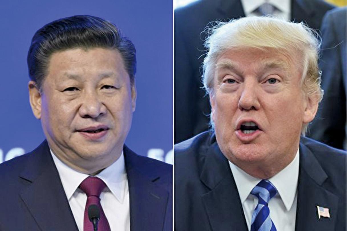 美國總統特朗普和中國國家主席習近平再次通話。(AFP)