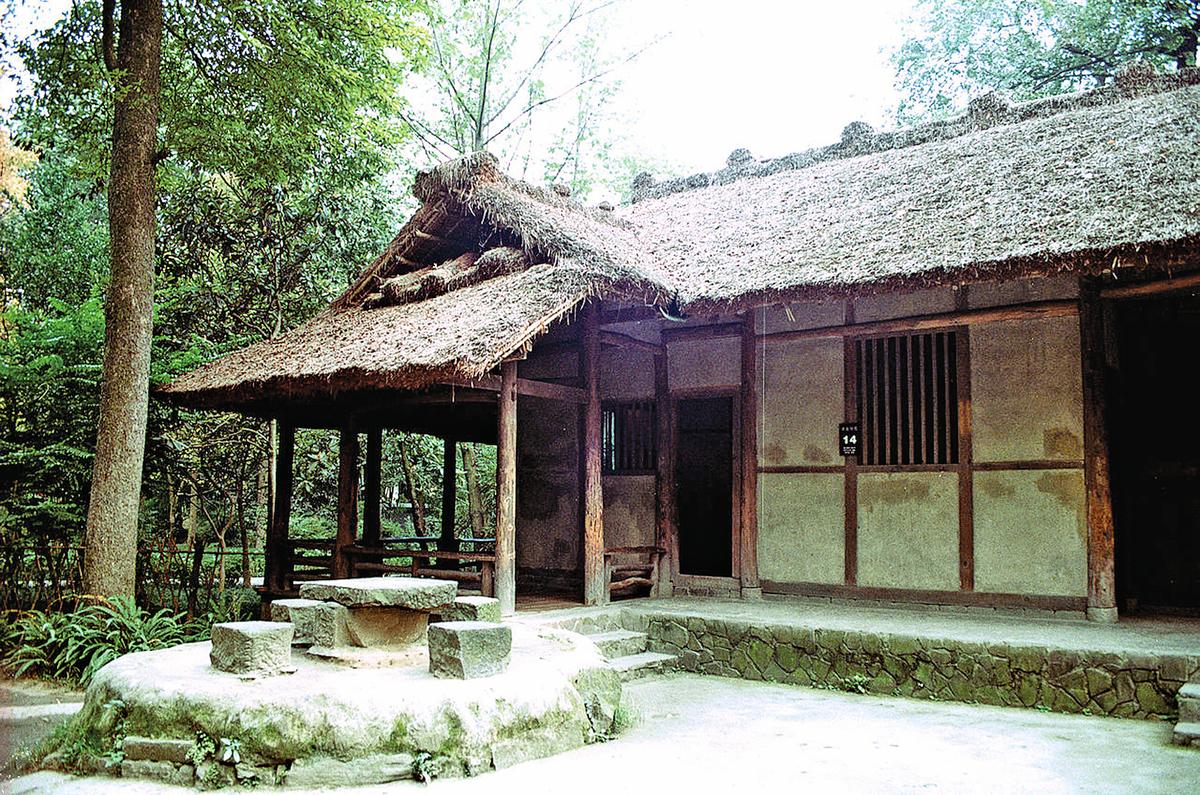 成都杜甫草堂(唐戈/維基百科)