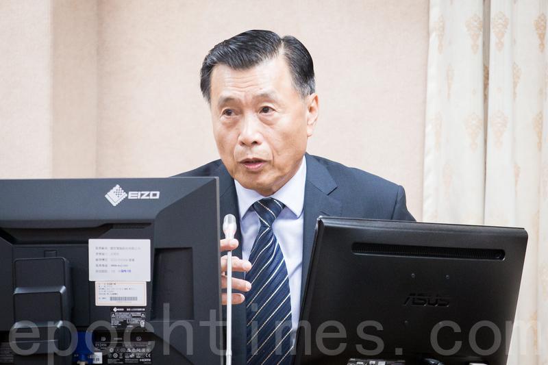 外界猜測「習蔡會」的可能性,台灣國安局長彭勝竹26日表示,現在舉行「習蔡會」的可能性不太大。(陳柏州/大紀元)