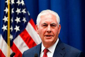 蒂勒森:敘利亞的未來沒有阿薩德位置