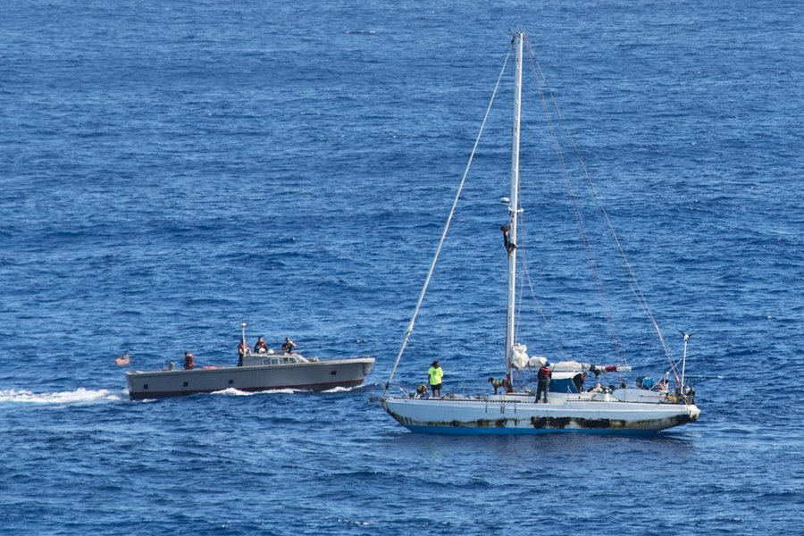 海上迷航漂流數月 美國兩女子奇蹟獲救