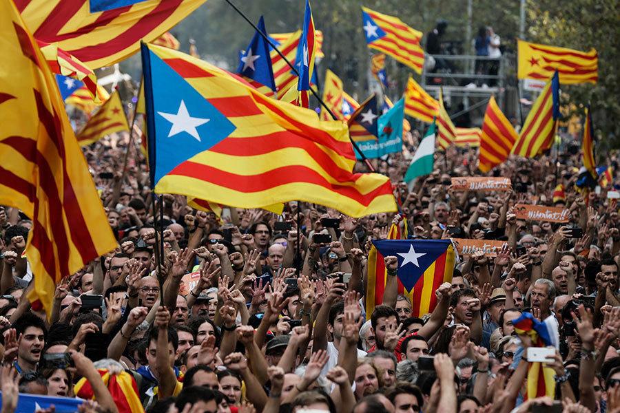 加泰宣佈獨立 或被西班牙認為違法