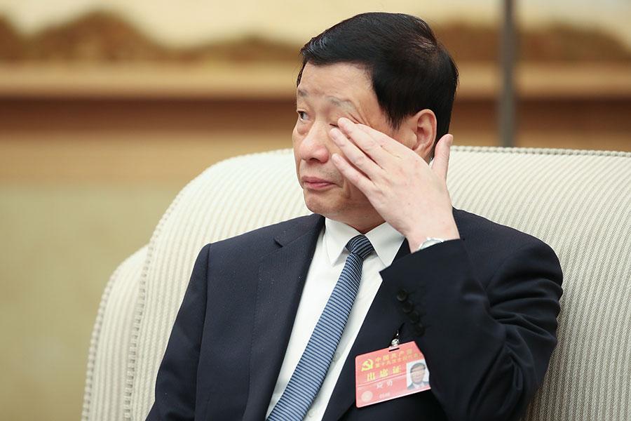 港媒披露,上海市長應勇將出任中共公安部部長。如果消息成真,這將是20年來首次由非江派人馬執掌中共公安部。(Lintao Zhang/Getty Images)