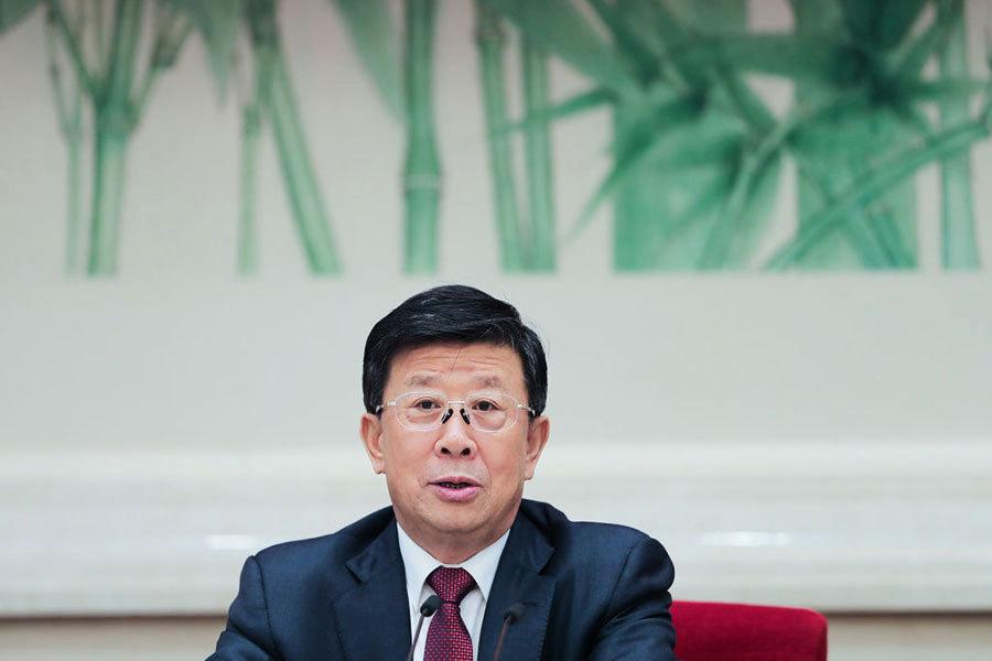 趙克志接任中共公安部黨委書記