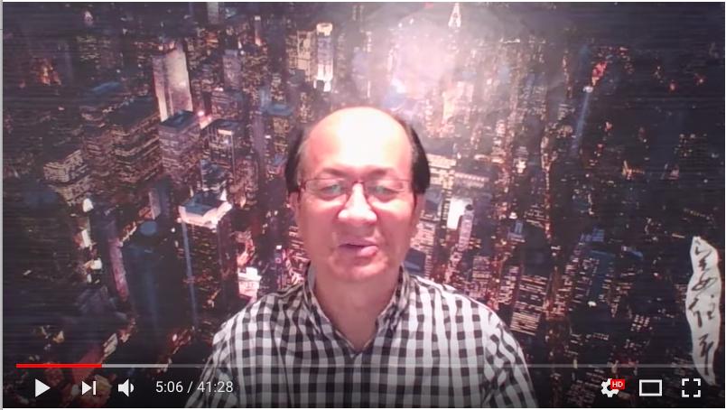 加拿大華裔資深媒體人姜維平表示十九大後上海人事將有重大變局,他以抓捕將的兒子別客氣為題,對十九大進行點評。(視像擷圖)