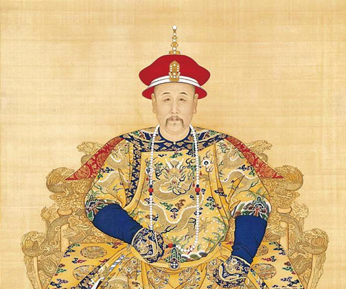 清世宗雍正皇帝像。(公有領域)