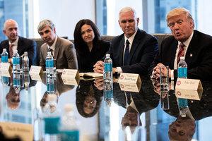 特朗普訪華40位企業領袖將隨行 擬簽能源大單