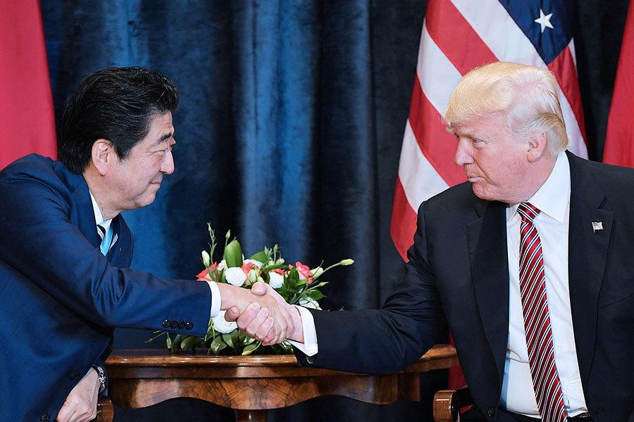 特朗普將訪日 重點談朝核及美日科技合作