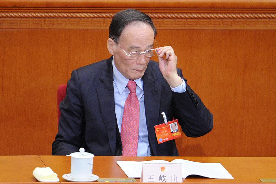 有最新消息稱,他已獲習近平邀請,將在明年「兩會」擔任國家副主席。(WANG ZHAO/AFP/Getty Images)