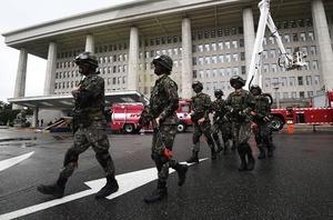 北韓頻挑釁 南韓舉行大規模災難救援演習