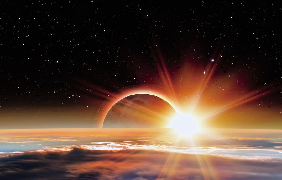 日食災難?總還有希望