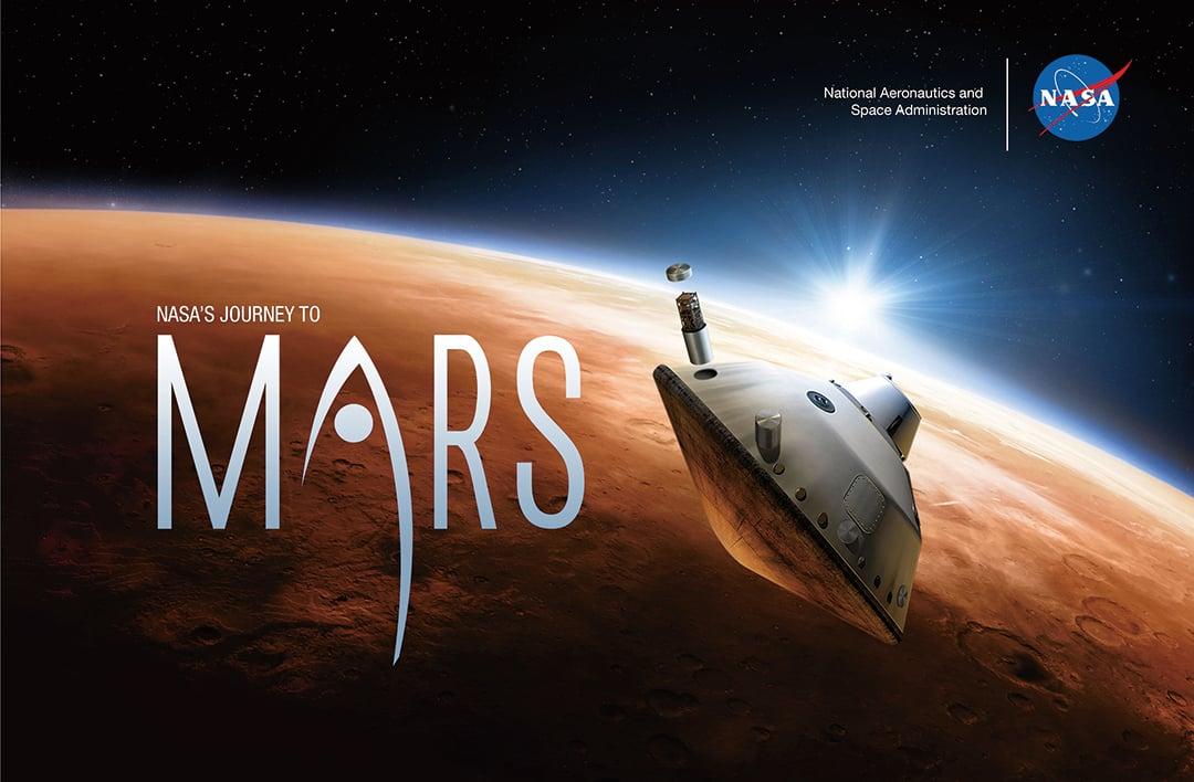 一種新型塑料將成為製造五年後飛往火星的一個探測器的主要材料。(NASA)