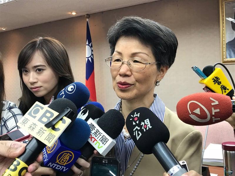 台灣陸委會10月30日表示,台灣人民加入中國大陸的「中國共產黨」,嚴重影響台灣安全及安定。圖為陸委會主委張小月。(中央社檔案照片)